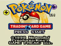 Pokemon Trading Card Game, capture décran